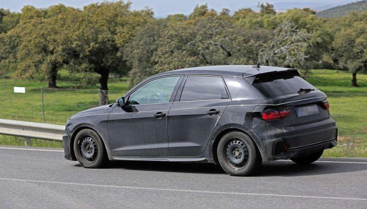 Audi A1 2018, la seconda generazione quasi pronta al debutto - Foto 9 di 13