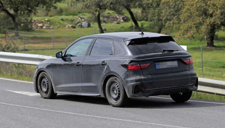Audi A1 2018, la seconda generazione quasi pronta al debutto - Foto 10 di 13