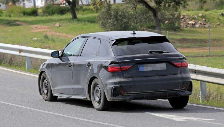 Audi A1 2018, la seconda generazione quasi pronta al debutto - Foto 11 di 13