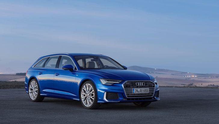 Audi A6 Avant 2018: tanto spazio, ma con classe - Foto 2 di 8