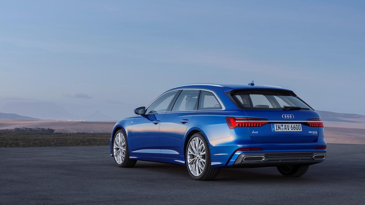 Audi A6 Avant 2018 posteriore