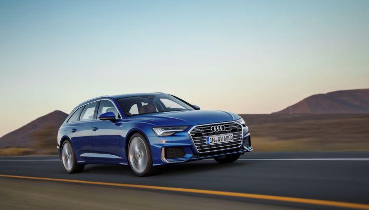 Audi A6 Avant 2018: tanto spazio, ma con classe - Foto 3 di 8