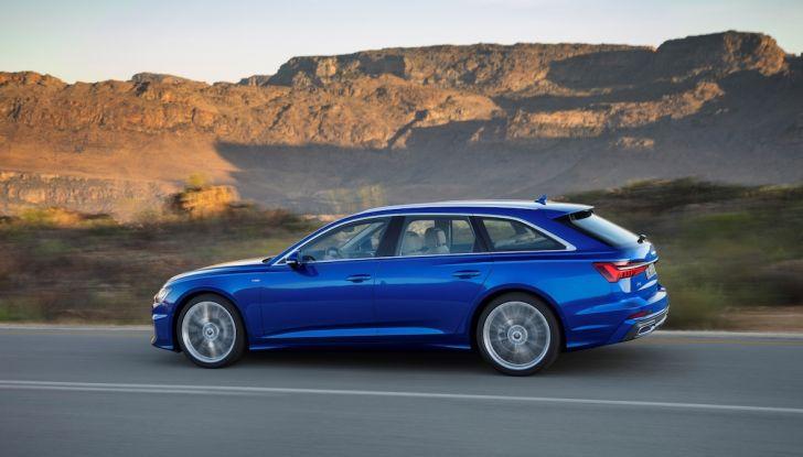 Audi A6 Avant 2018: tanto spazio, ma con classe - Foto 6 di 8