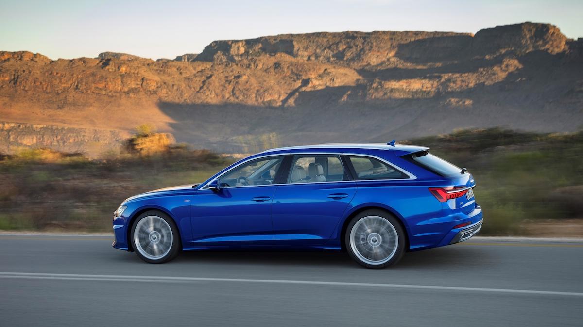 Audi A6 Avant 2018 fiancata