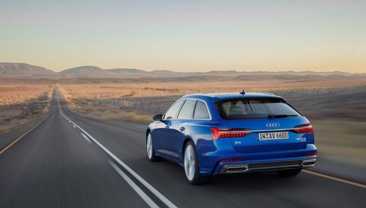Audi A6 Avant 2018: tanto spazio, ma con classe - Foto 7 di 8