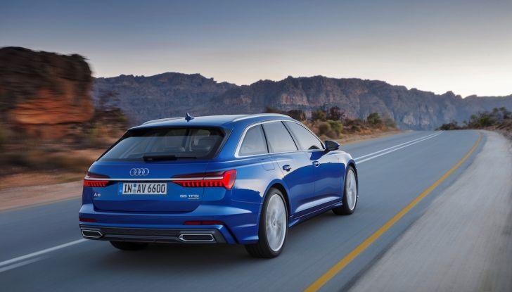 Audi A6 Avant 2018: tanto spazio, ma con classe - Foto 8 di 8