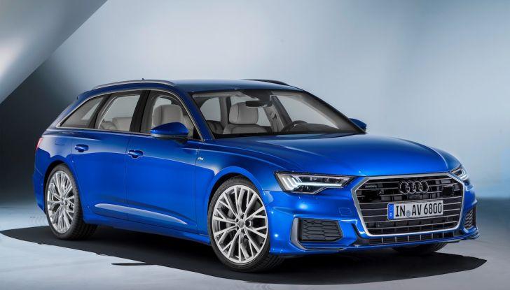 Audi A6 Avant 2018: tanto spazio, ma con classe - Foto 4 di 8