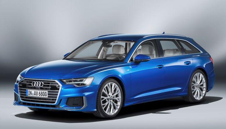 Audi A6 Avant 2018: tanto spazio, ma con classe - Foto 1 di 8