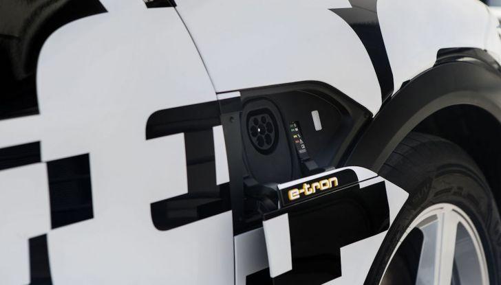 Audi E-Tron, in vendita da fine 2018, è sviluppata nella Gabbia di Faraday - Foto 5 di 26