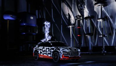 Audi E-Tron, in vendita da fine 2018, è sviluppata nella Gabbia di Faraday
