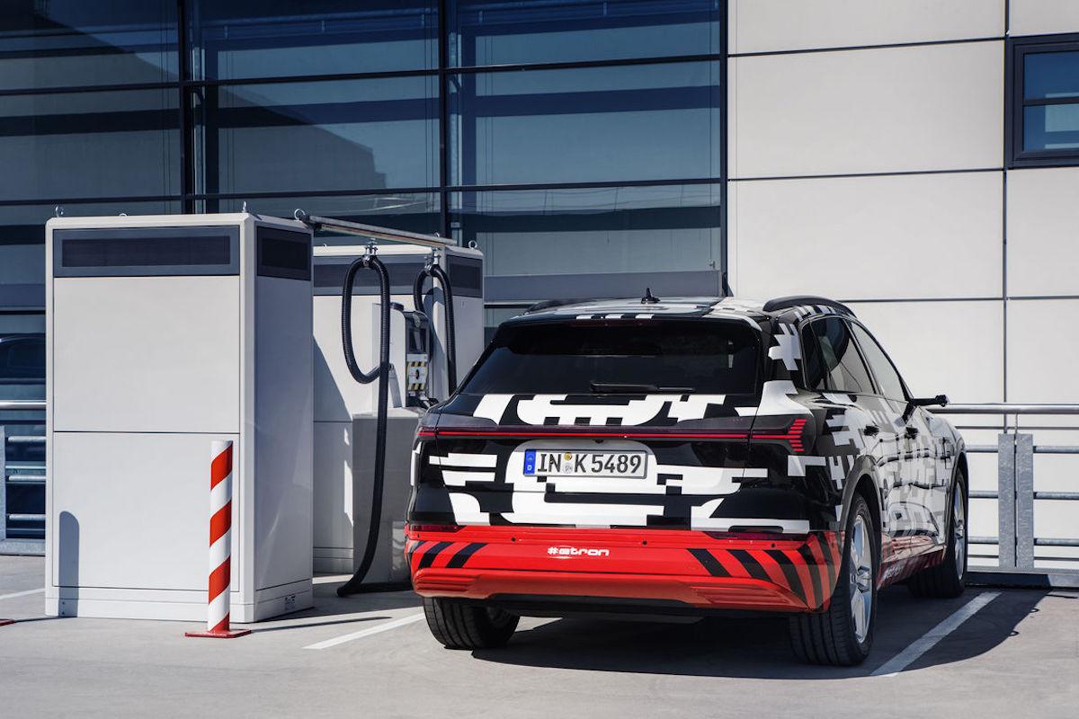 Audi E-Tron 2018 Ricarica