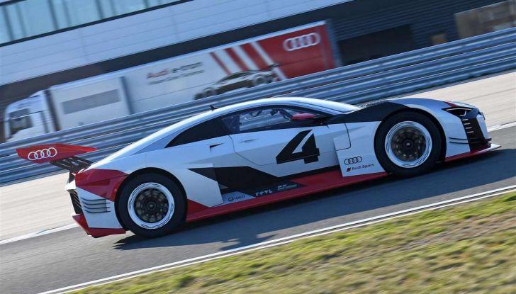 Audi e-tron Vision Gran Turismo nata per PS4, arriva in Formula E - Foto 13 di 17