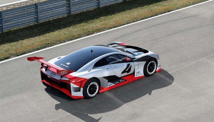 Audi e-tron Vision Gran Turismo nata per PS4, arriva in Formula E - Foto 3 di 17
