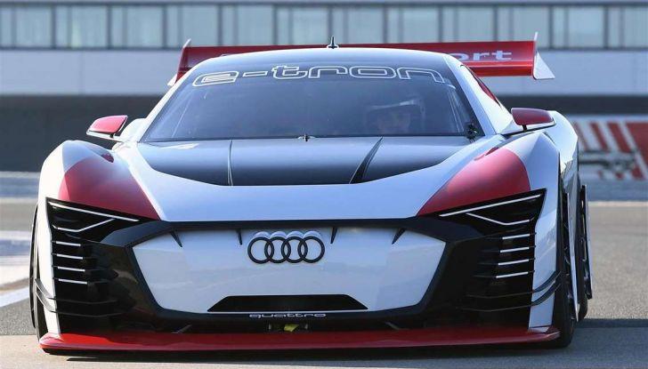 Audi e-tron Vision Gran Turismo nata per PS4, arriva in Formula E - Foto 12 di 17