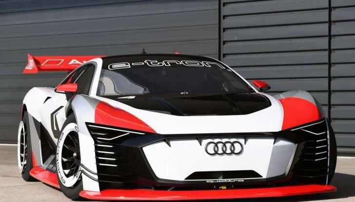 Audi e-tron Vision Gran Turismo nata per PS4, arriva in Formula E - Foto 14 di 17