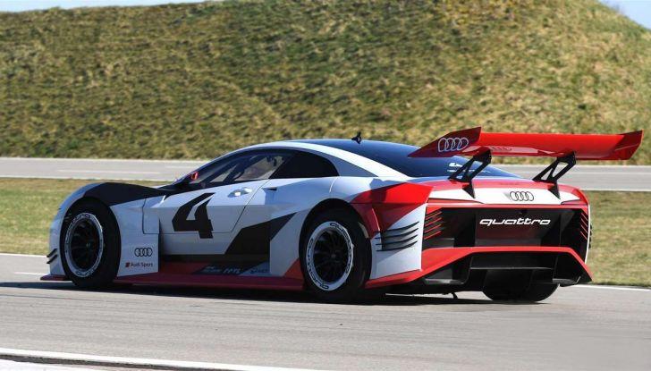 Audi e-tron Vision Gran Turismo nata per PS4, arriva in Formula E - Foto 15 di 17