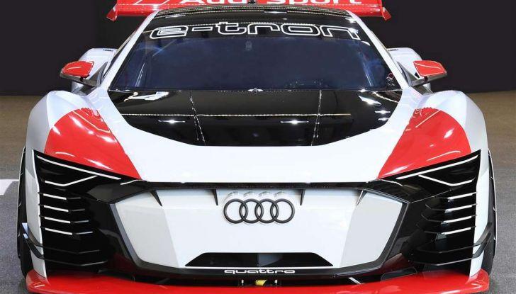 Audi e-tron Vision Gran Turismo nata per PS4, arriva in Formula E - Foto 16 di 17