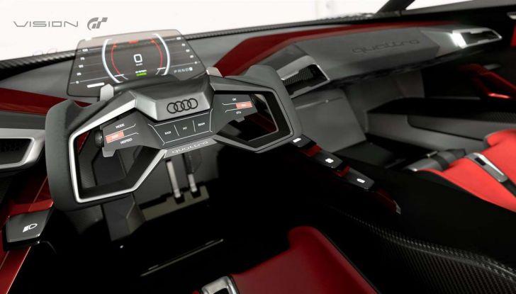 Audi e-tron Vision Gran Turismo nata per PS4, arriva in Formula E - Foto 17 di 17