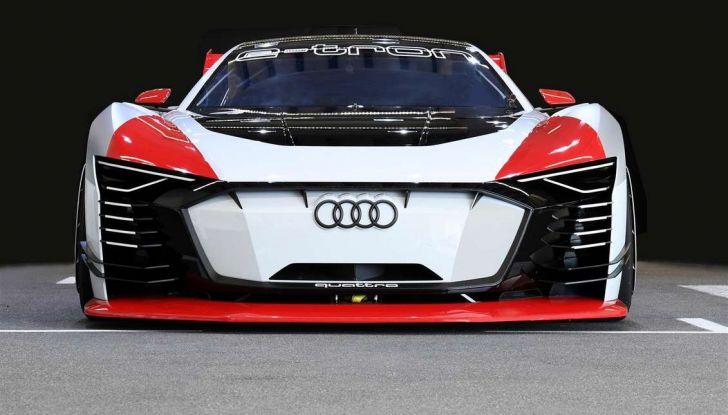 Audi e-tron Vision Gran Turismo nata per PS4, arriva in Formula E - Foto 2 di 17
