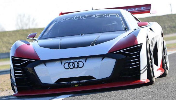 Audi e-tron Vision Gran Turismo nata per PS4, arriva in Formula E - Foto 4 di 17