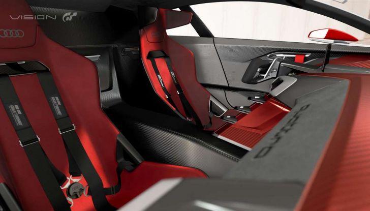Audi e-tron Vision Gran Turismo nata per PS4, arriva in Formula E - Foto 5 di 17