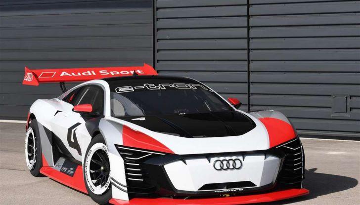 Audi e-tron Vision Gran Turismo nata per PS4, arriva in Formula E - Foto 6 di 17