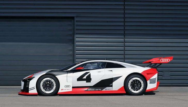 Audi e-tron Vision Gran Turismo nata per PS4, arriva in Formula E - Foto 8 di 17