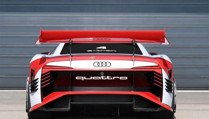 Audi e-tron Vision Gran Turismo nata per PS4, arriva in Formula E - Foto 9 di 17