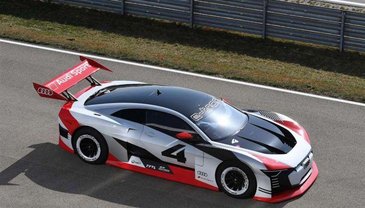 Audi e-tron Vision Gran Turismo nata per PS4, arriva in Formula E - Foto 11 di 17