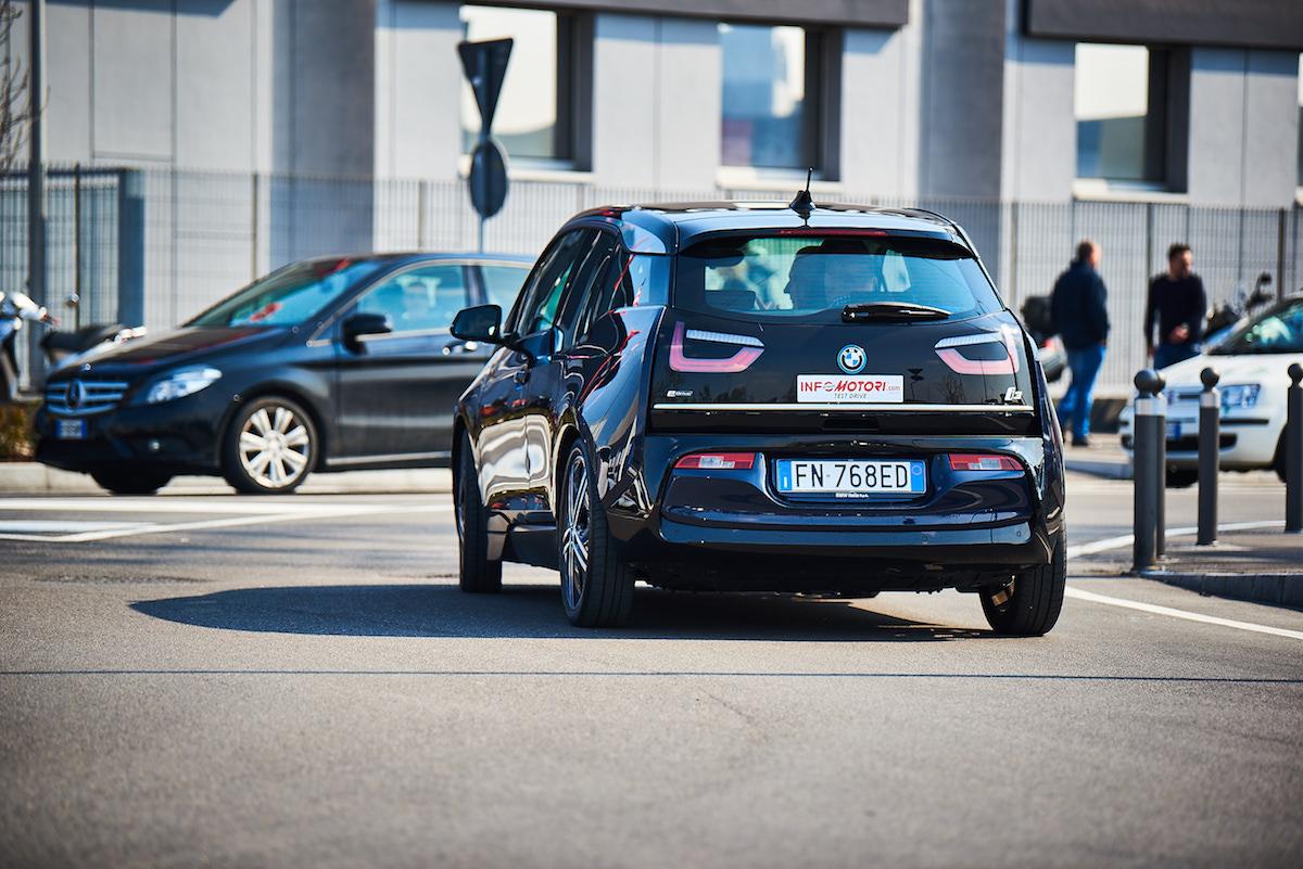 BMW i3 2018 Prova su strada
