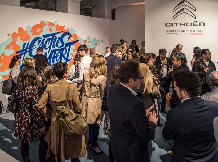 Nuova Citroen C4 Cactus protagonista alla Milano Design Week 2018 - Foto 13 di 30