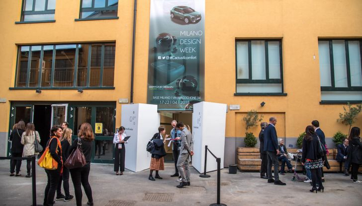 Nuova Citroen C4 Cactus protagonista alla Milano Design Week 2018 - Foto 16 di 30