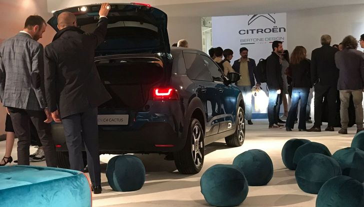 Nuova Citroen C4 Cactus protagonista alla Milano Design Week 2018 - Foto 6 di 30