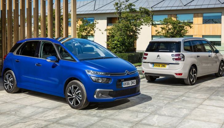 Citroen C4 e Grand C4 SpaceTourer: addio al nome Picasso - Foto 1 di 9