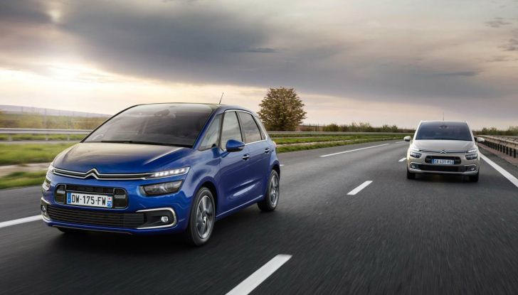 Citroen C4 e Grand C4 SpaceTourer: addio al nome Picasso - Foto 3 di 9