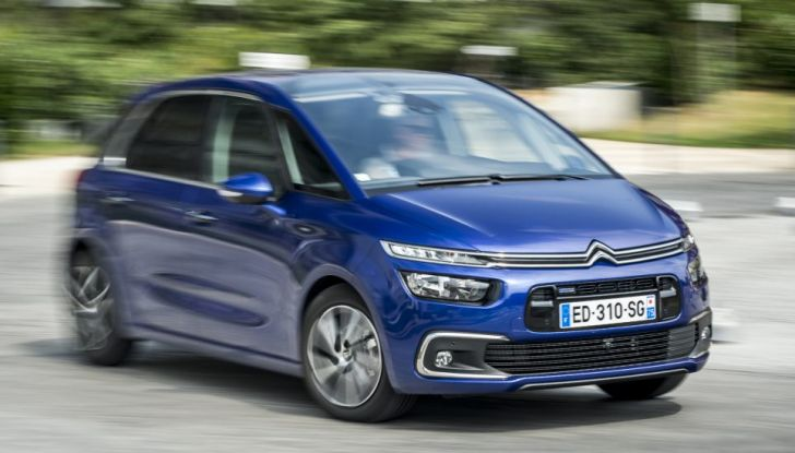 Citroen C4 e Grand C4 SpaceTourer: addio al nome Picasso - Foto 4 di 9