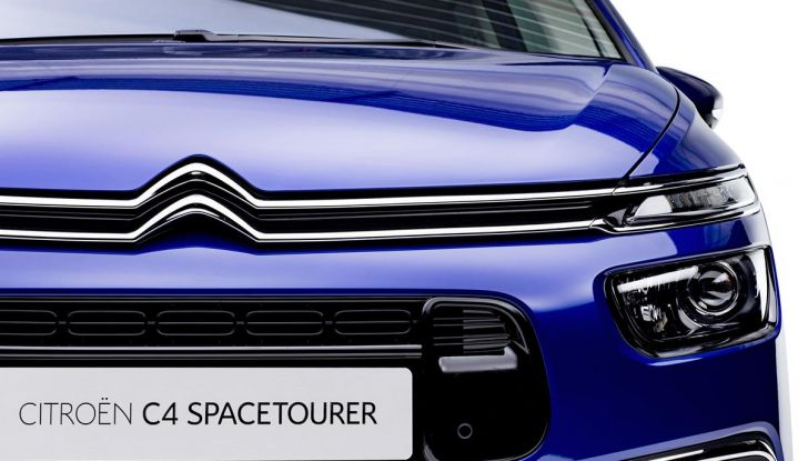Citroen C4 e Grand C4 SpaceTourer: addio al nome Picasso - Foto 5 di 9
