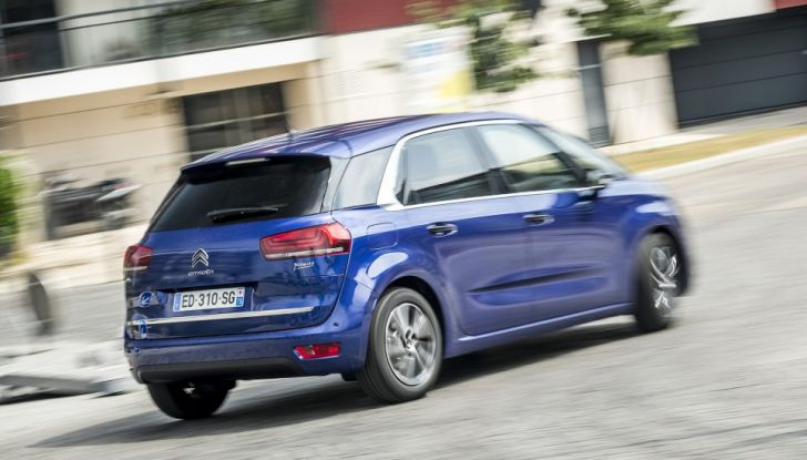 Citroen C4 e Grand C4 SpaceTourer: addio al nome Picasso - Foto 6 di 9