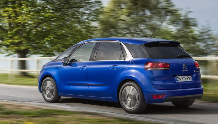 Citroen C4 e Grand C4 SpaceTourer: addio al nome Picasso - Foto 7 di 9