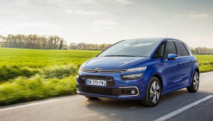 Citroen C4 e Grand C4 SpaceTourer: addio al nome Picasso - Foto 8 di 9