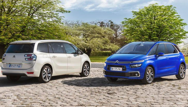 Citroen C4 e Grand C4 SpaceTourer: addio al nome Picasso - Foto 9 di 9
