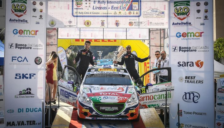 Peugeot Competition Rally 208: al Lirenas vince il toscano Ciuffi - Foto 1 di 3