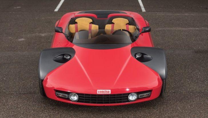 Ferrari Conciso, esemplare unico in vendita all'asta da RM Sotheby's - Foto 2 di 18