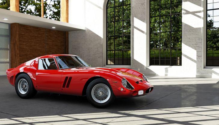 Al Concorso d'Eleganza la Ferrari 250 GTO del batterista dei Pink Floyd - Foto 12 di 13