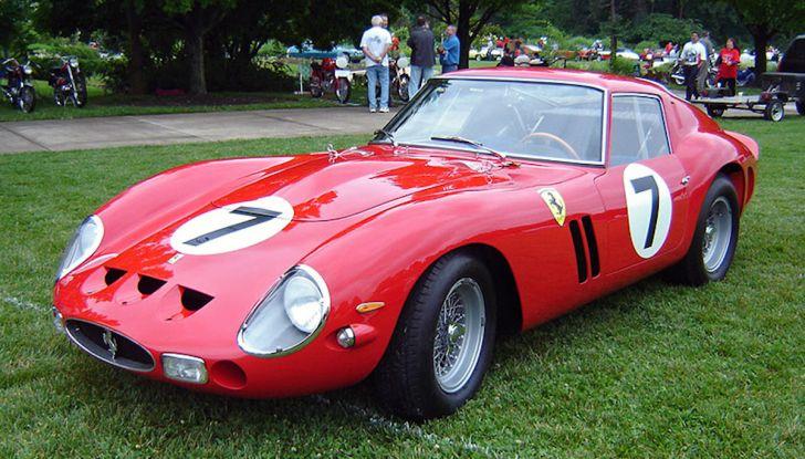 Al Concorso d'Eleganza la Ferrari 250 GTO del batterista dei Pink Floyd - Foto 8 di 13