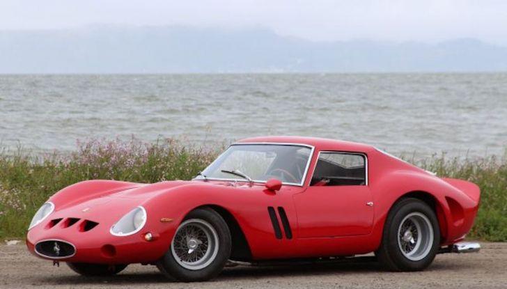Al Concorso d'Eleganza la Ferrari 250 GTO del batterista dei Pink Floyd - Foto 9 di 13