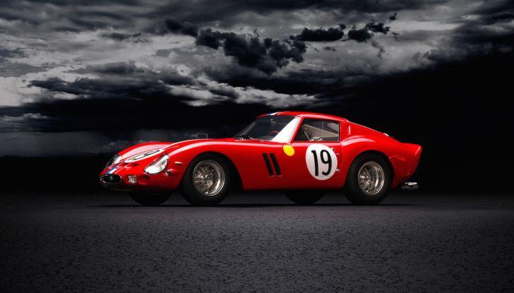 Al Concorso d'Eleganza la Ferrari 250 GTO del batterista dei Pink Floyd - Foto 10 di 13