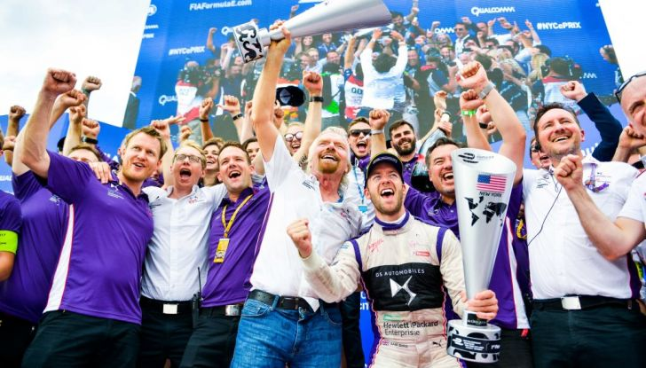 Video – New York 2017 Gara 1, Sam Bird vince il primo E-Prix di New York - Foto 3 di 4