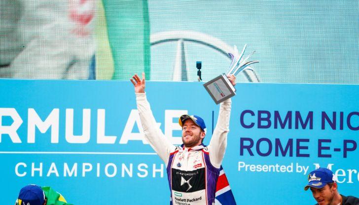 DS Virgin Racing – Sam Bird trionfa nello storico E-Prix di Roma - Foto 3 di 5