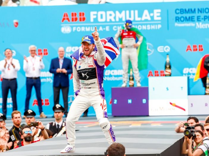 DS Virgin Racing – Sam Bird trionfa nello storico E-Prix di Roma - Foto 4 di 5